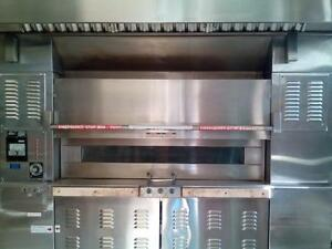 Bakery Baxter Revolving 18 Pan Bakery Oven Very Clean Bagels Bread Etc