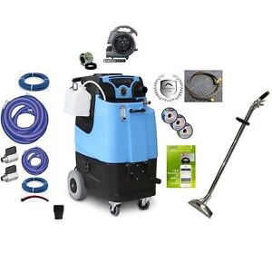 Mytee Ltd3 Speedster Carpet Cleaning Machine 12gal 500psi Dual 3 Stage Bundle