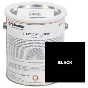 Plasti Dip 1 Gallon Can Uv Concentrate unthinned Matte Black