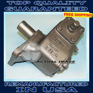 1966 1974 Ford F 100 4wd Manual Steering Gear Box Assembly