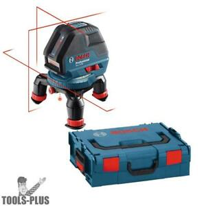 Bosch Tools Three Line Laser With Layout Beam W L boxx Gll3 50 New