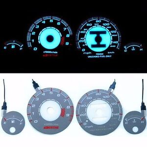 Bar Autotech Speedometer El Glow Gauge For Acura Integra Gsr 94 01 At Mph
