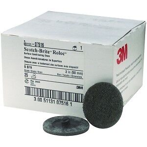 3m Scotch Brite 07516 Roloc Surface Conditioning Disc 2 Inch Super Fine 7516