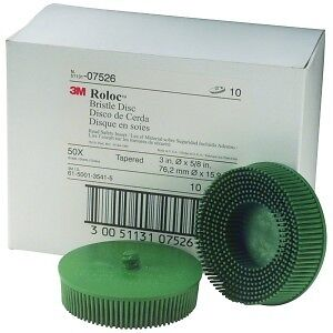 Scotch Brite Roloc Bristle Disc 3m 07526