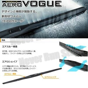 made In Japan Piaa Aero Vogue Silicone Windshield Wiper Blades 19 24 Set