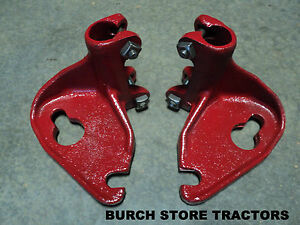 New Pair Of Back Rear Cultivator Bar Mounts For Farmall 140 130 Super A 100