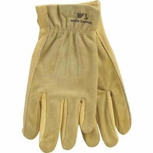 3 Pack Wells Lamont Medium Womens Grain Cowhide Leather Work Gloves