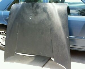Hood For Fintail Heckflosse Mercedes benz W110 W111