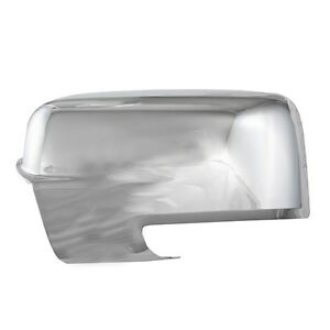 Chrome Mirror Covers W Cut Out For 2009 2010 2011 2012 Dodge Ram 1500 2500 3500