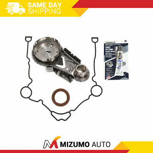 Timing Chain Kit Timing Cover Gasket Fit 04 10 Chrysler Dodge Jeep 5 7l 6 1 Hemi