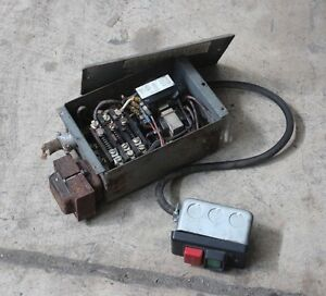 Delta Rockwell Motor Starter And Push Button