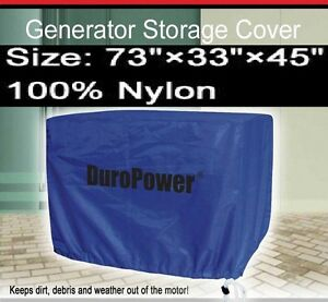 73 H X 33 W X 45 H Generator Cover Dp08c New Large Nylon Mower Tractor