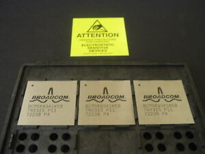 Bcm5693a1keb Broadcom Lot Of 3 New Units
