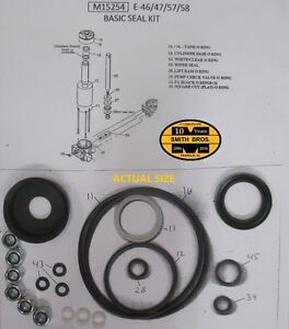 Meyer E 47 Plow Pump Basic Seal Kit 6 New Nuts