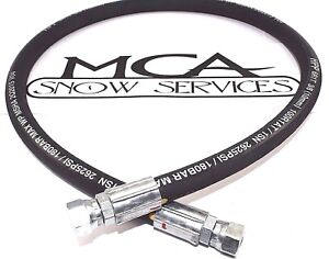 Western Fisher Snow Plow Hose Mvp 3 8 X 38 Fjic Ends 44351 44315