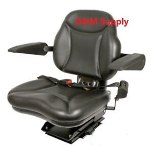 Deluxe Big Boy Tractor Seat To Fit John Deere Ford Case Ih
