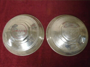 1940 S Lincoln Rim Hub Cap Hubcap Wheel Cover Dog Dish Poverty Oem Used 12 Pair
