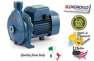 Electric Water Pump Industrial Pedrollo Cpm610 0 85 Hp 110v Made In Italy