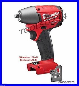 New Milwaukee 2754 20 M18 Fuel 3 8 Compact Impact Wrench Bare Tool Only