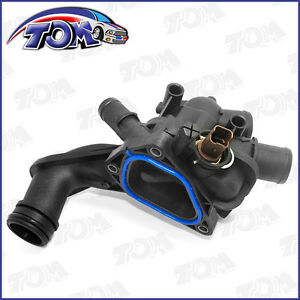 Brand New Thermostat Housing And Gasket For 07 13 Mini Cooper 11 53 7 534521