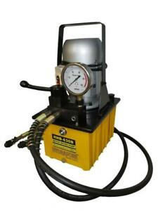 Electric Driven Hydraulic Pump 10000 Psi double Acting Manual Valve B 630b