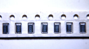 50x New Vishay dale 100 Ohm 1 1206 1 4w Smd Resistor Part Crcw 1206 1000ft1