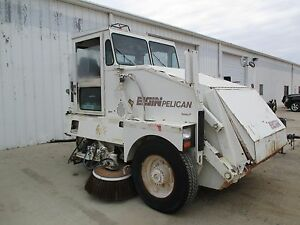 Elgin Pelican Sweeper Series P Runs And Drives Parting Out