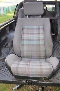 Oem 1991 Vw Scirocco Gtii Seats European Only Fabric