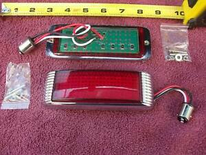 1941 Ford Tail Lights Led Flush Mount Set Custom Hot Rod 1 Pair