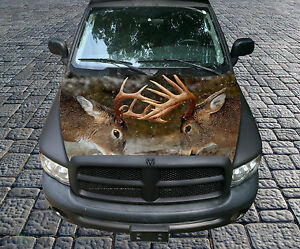 H90 Deer Hunting Hood Wrap Wraps Decal Sticker Tint Vinyl Image Graphic