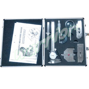 Welding Gage Box Calliper Sliding Clip Depth Gauge Automatic Weld Inspection
