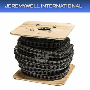 25 Roller Chain 100 Feet With 10 Connecting Links