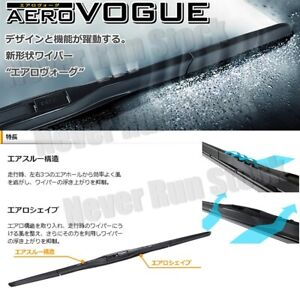 made In Japan Piaa Aero Vogue Silicone Windshield Wiper Blades 16 20 Set