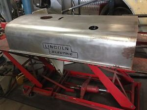 Lincoln Sa 200 Pipeliner Short Hood Carbon Steel Roof With Logos
