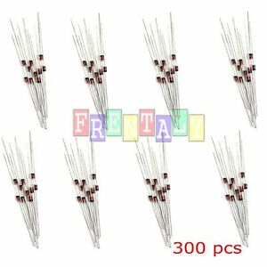 300pcs 2v 39v 30 Values 1 2w 0 5w Zener Diode Assorted Kit Assortment Set