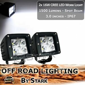 16w 3 X 3 Cree High Power Led Work Light Lamp Spot 4wd Boat Offroad 3 000lm B