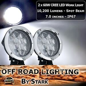 60w 7 0 Inch Cree High Power Led Work Light Spot 4wd Boat Offroad 10 200lm a