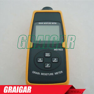 Md7822 Digital Grain Moisture Meter 2 30 Moisture Measurement Range