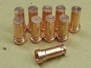 10 X Plasma2502 Plasma Cutter Nozzles For Snap on Plasma60i Plasma30i Us Ship