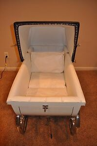 Vintage 1950s Bilt Rite Pram Baby Carriage