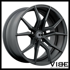 20 Xo Verona Gunmetal Concave Wheels Rims Fits Lexus Is250 Is350