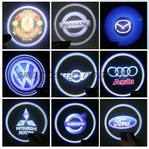 2x Car Door Projector Laser Welcome Led Lights Ghost Shadow Logo For Car Auto