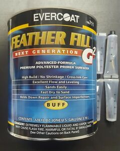 Evercoat Featherfill G2 Primer Buff Color Gallon Size