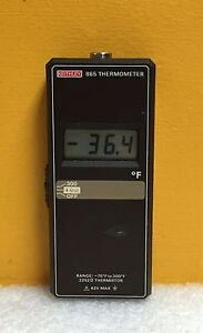 Keithley 865 70 To 300 f 3 5 Digit Lcd Handheld Digital Thermometer No Accys