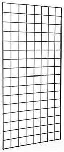Pack Of 3 Gridwall Panels 2 x5 Black Color