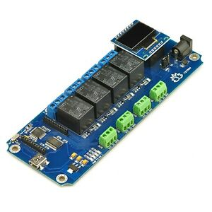 Tstr04 4 Channel Outputs 4 Temperature Sensors Usb Relay thermostats