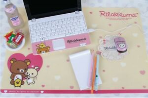 San x Rilakkuma Desk Pad Office Table Mouse Big Size Mat 640 X 440 mm