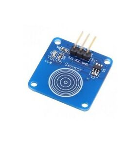 5pcs Ttp223b Digital Touch Sensor Capacitive Touch Switch Module For Arduino New