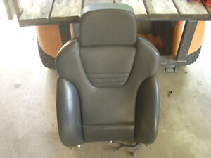 Audi S4 B6 Driver Front Seat Back Only Black Leather Recaro 2004 2005 Nice