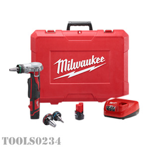New Milwaukee 2432 22xc Cordless M12 Propex Expansion Tool Kit Battery